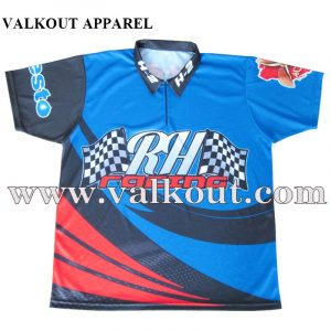 07b7448b5 Short Sleeve OEM Factory Custom Dry Fit Racing Polo Shirts | Valkout ...