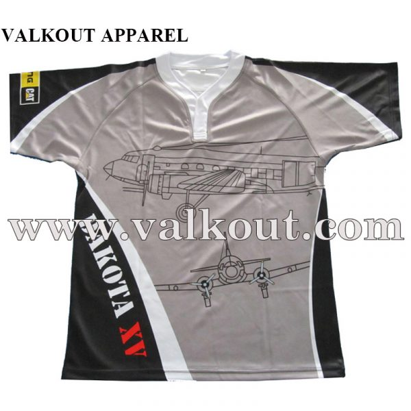 Make Your Own Design Custom Printed Rugby Jerseys | Valkout