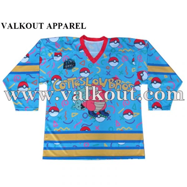Custom Sublimated Breathable Dri Fit Ice Hockey Jersey. 20161209111 3186ec666