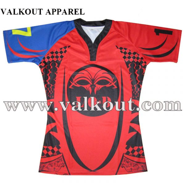 139cbb86a AFL Sublimation Rugby Shirt Durable Strong Fabric Rugby Jersey ...