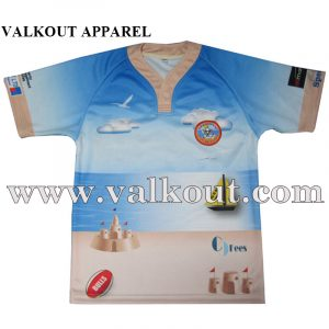 b2966dc79ff No Minimum Printed Sublimation Custom Design Rugby Jersey. Custom  Sublimated Rugby Touch Football Uniforms