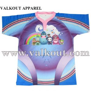 No Minimum Printed Sublimation Custom Design Rugby Jersey Valkout