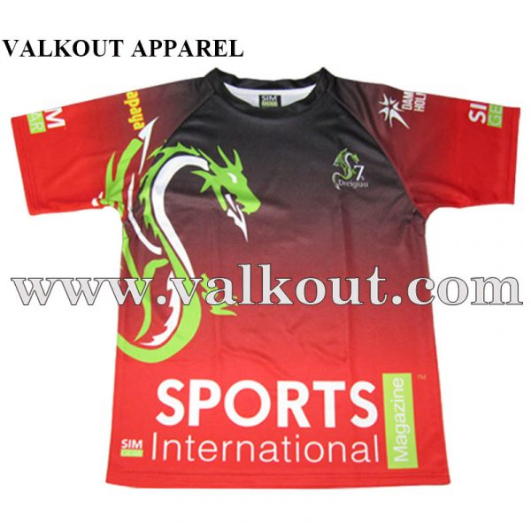 75b67c2f Short Sleeve Summer Camp Sport Events Cool Performance Sublimation Sport T  Shirt
