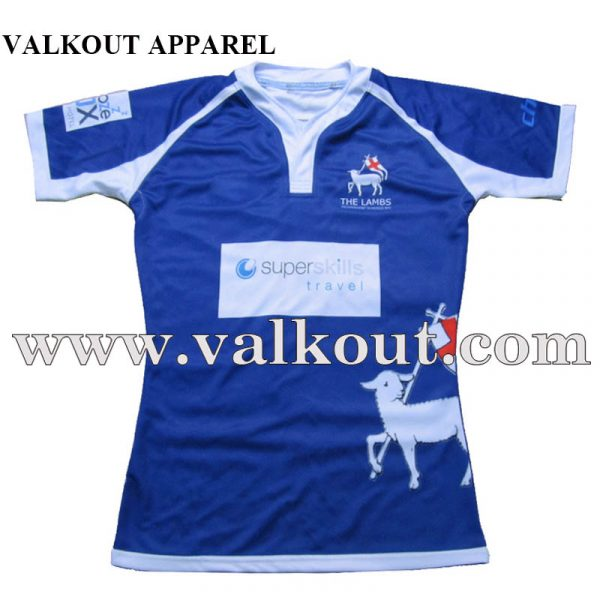 90cc0ba9a Custom Design High Quality Team Sports Club Cool Dry Sublimation Rugby Shirt  With Cheap Price