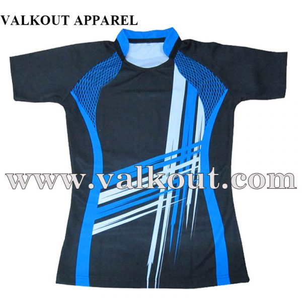 Multi Color Custom Printed Sublimation Sports Wear Rugby