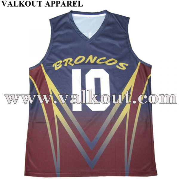 8cdb66aa1946 Sublimation Print Custom Team Basketball Jersey