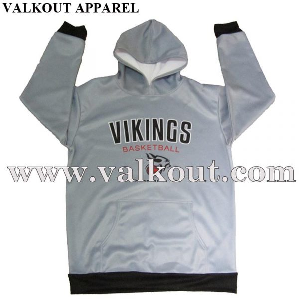 Custom Sublimated All Over Printed Hoodies | Valkout Apparel