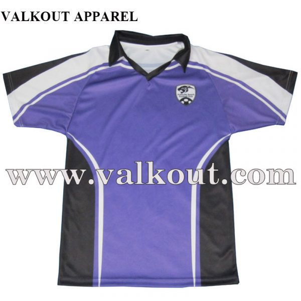 2a2e6e731 Sublimation Printing 160gsm Polyester Soccer Jersey With Player ...