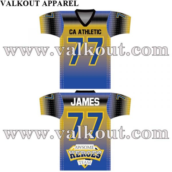 f812ce950 Custom Sublimation American Football Uniforms and Custom Football Jerseys. Sublimation  Football Jerseys Manufacturers   Suppliers in China. V-AFJ-006