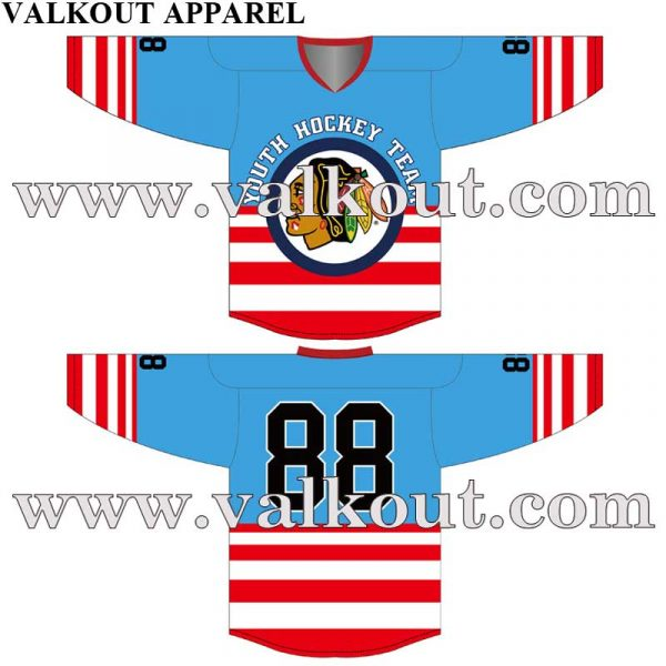 Custom Sublimated Hockey Jerseys No Minimum Original Design Created.  Sublimation Inline Hockey Jersey Wholesale League Hockey Jersey. V-HJ-002 15ec348d0