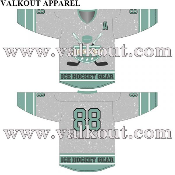 Custom Sublimated Hockey Jerseys No Minimum Original Design Created. Custom  Design Artwork For Sublimated Ice Hockey Jereseys. V-HJ-007 a9c9043cd